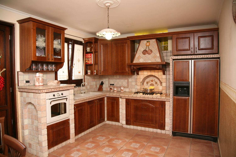 Cucine in finta muratura  Emilio Alfano